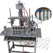 杀虫剂气雾剂灌装机